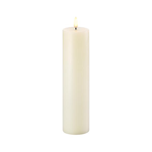 LED свеча Pillar candle UYUNI Lighting 5,8x22 см Ivory