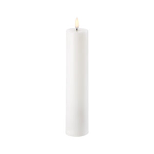 LED свеча Pillar candle UYUNI Lighting 5,8x22 см Nordic White